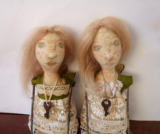 rustic art dolls