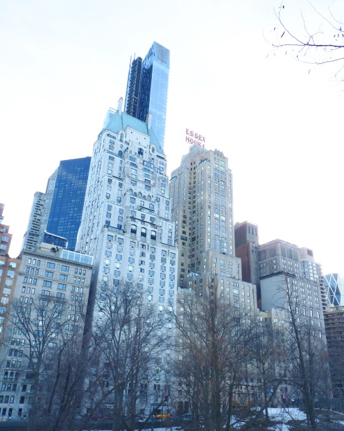 Probably my favorite shot from the trip - The view of Manhattan from Central Park
