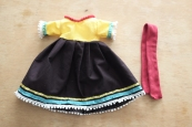 handmade traditional Mexican doll dress