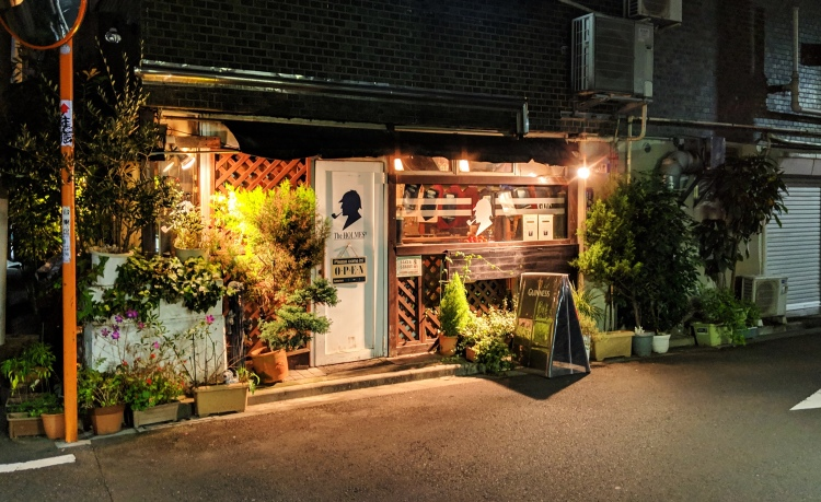 cozy aesthetic sherlock holmes cafe in tokyo japan