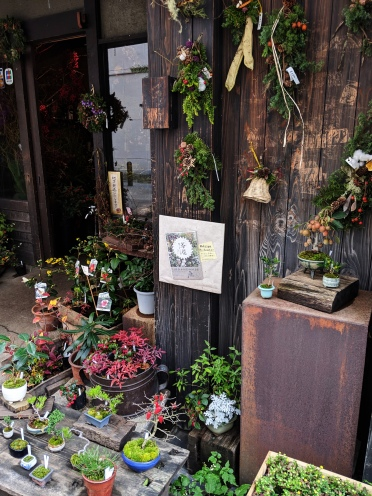 cute and rustic plant shop in tokyo, japan